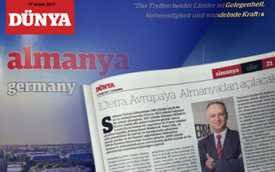 "ICterra at Newspapers: ""Dünya Gazetesi Almanya Eki"""