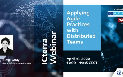 "UPCOMING: ICterra Webinar 16 April 2020 ""Applying Agile Practices with Distributed Teams"""